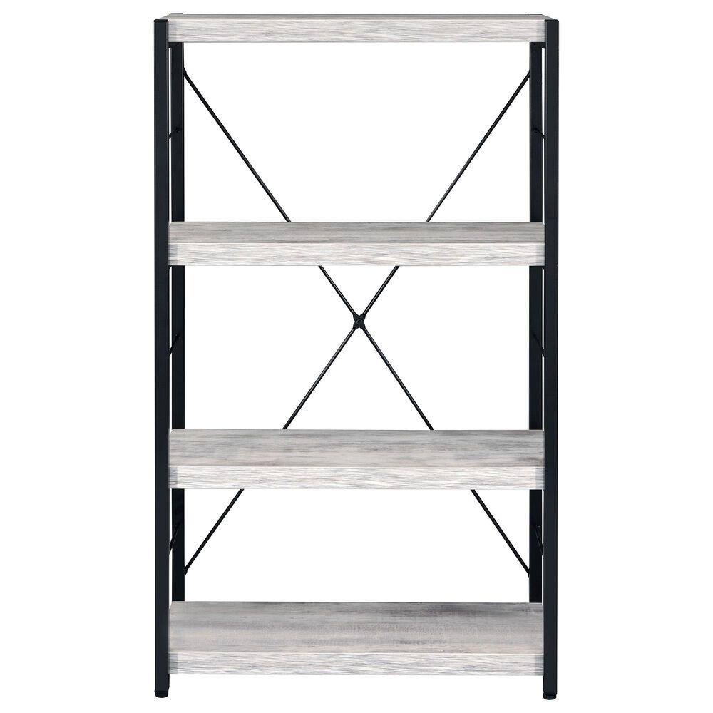 Gunnison Co. Jurgen Bookshelf in Antique White/Black, , large
