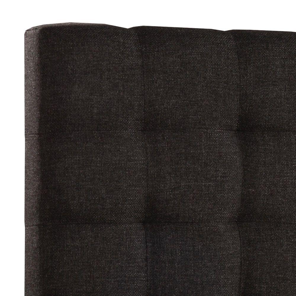 Richlands Furniture Bergen Queen Headboard in Onyx Linen, , large