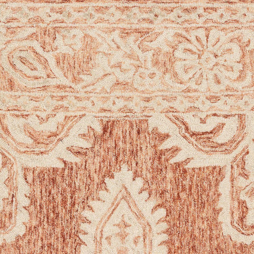 Surya Granada GND-2301 8' Round Rust, Peach and Khaki Area Rug, , large