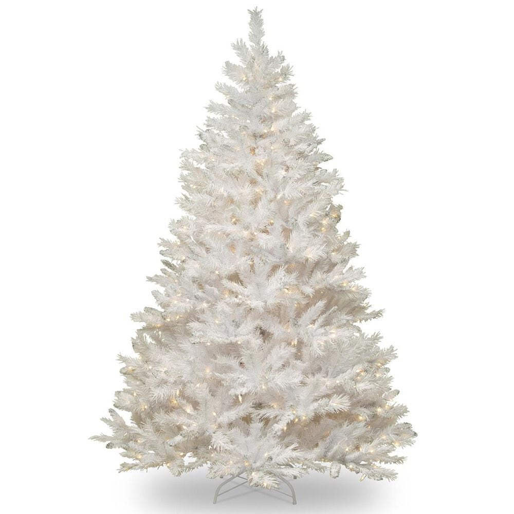 """National Tree 7.5"""" Winchester White Pine Tree with 500 White Lights, , large"""