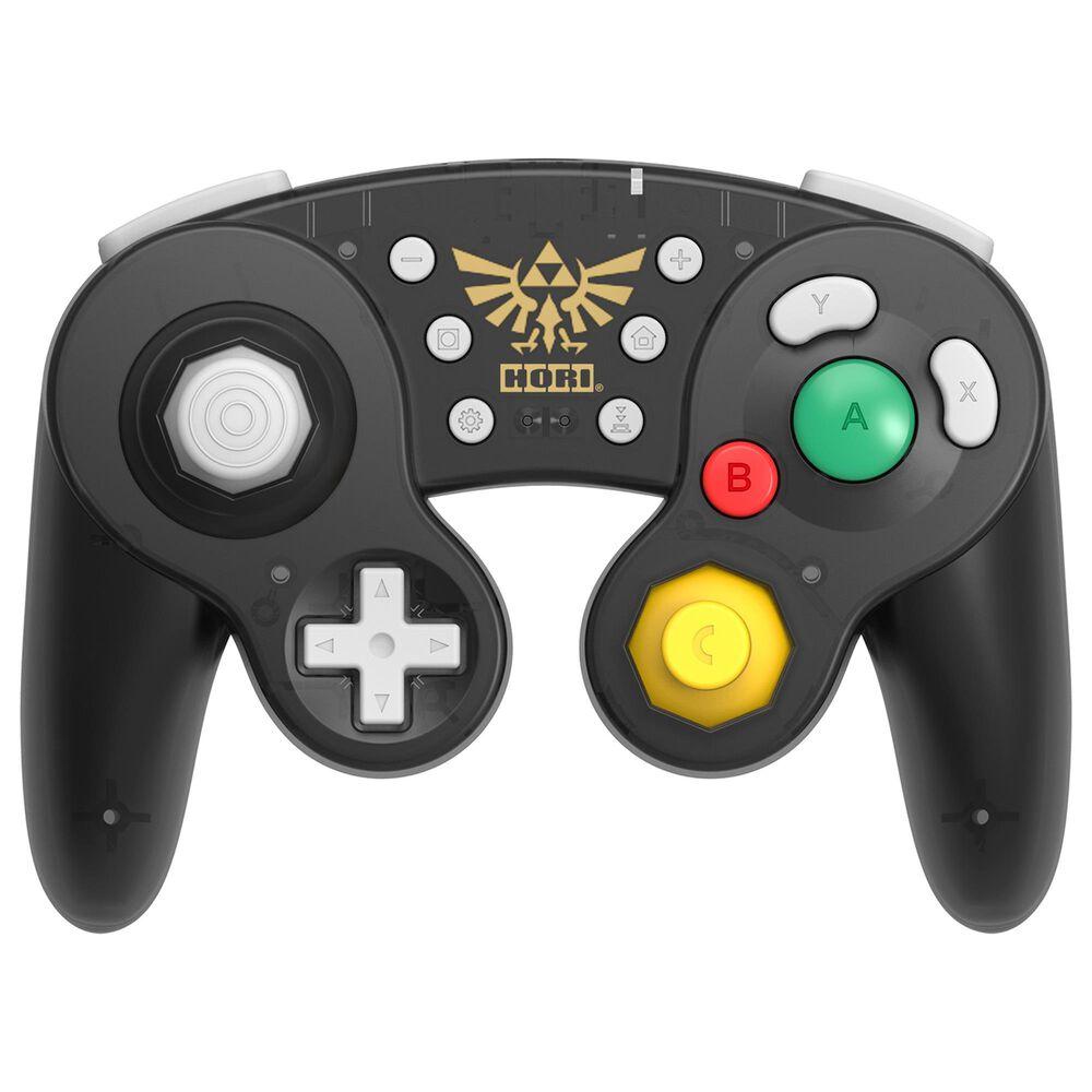 Hori Wireless Battle Pad Zelda in Black - Nintendo Switch, , large