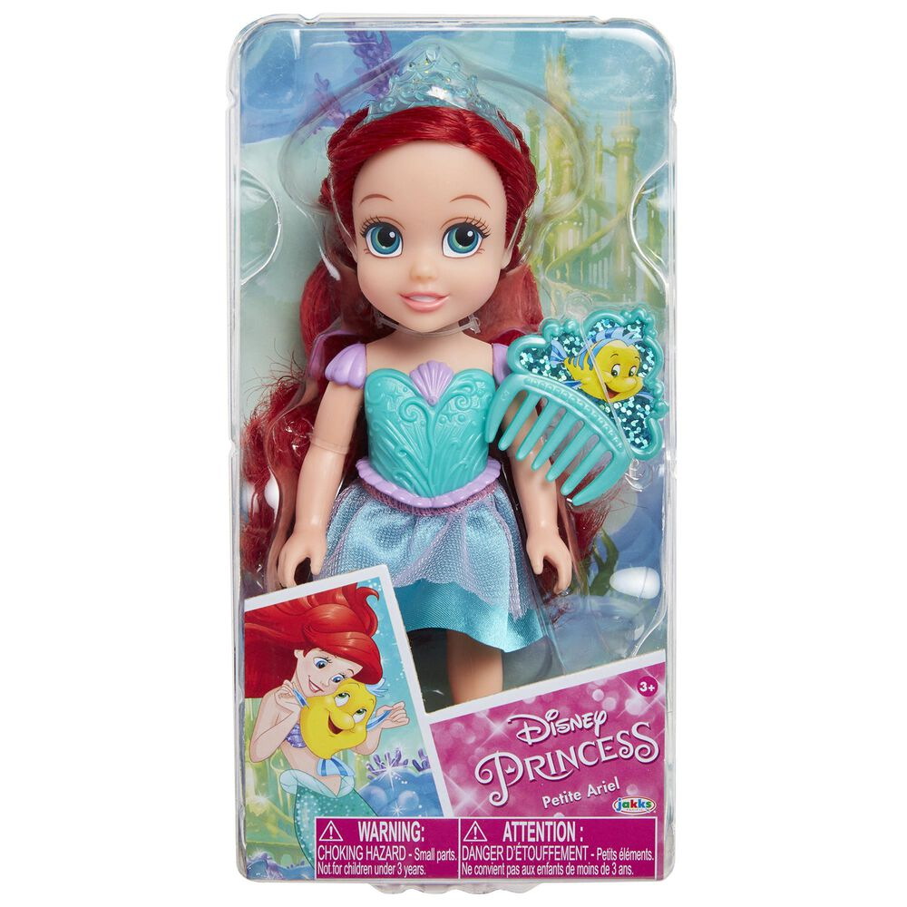 """Jakks Pacific 6"""" Petit Ariel Doll with Comb, , large"""
