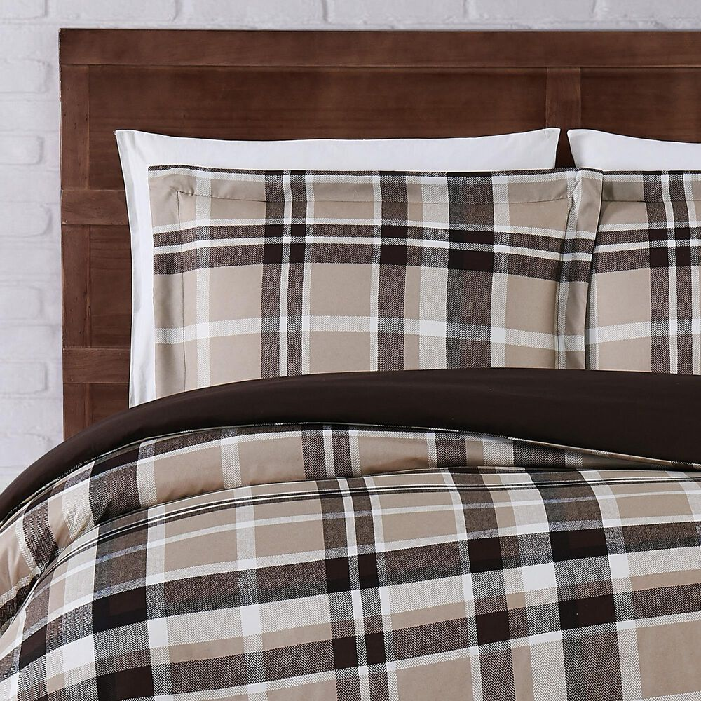 Pem America Truly Soft Paulette 2-Piece Twin XL Duvet Set in Taupe, , large