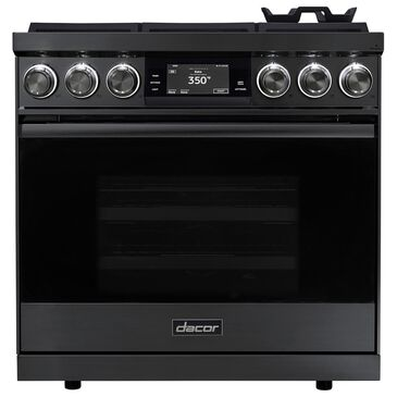 """Dacor Modernist 36"""" Natural Gas Range in Graphite Stainless Steel, , large"""