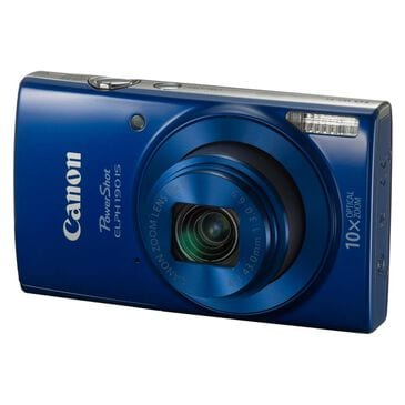 Canon PowerShot ELPH 190 IS Digital Camera Blue, Blue, large