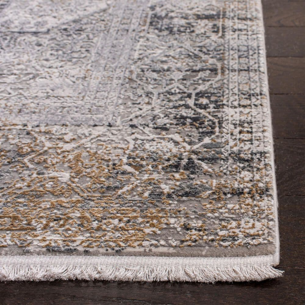 Safavieh Eclipse 9' x 12' Light Grey and Grey Area Rug, , large