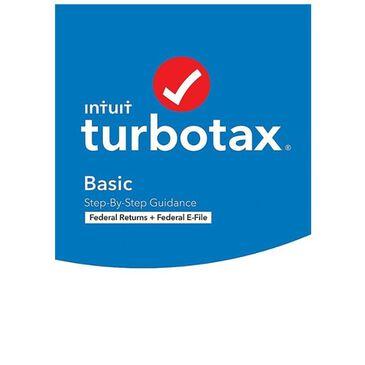 Intuit TurboTax Desktop Basic 2020 Federal E-file Software, , large