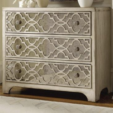 Hooker Furniture Sanctuary 3-Drawer Chest in Pearl Essence, , large