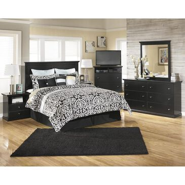 Signature Design by Ashley Maribel 4 Piece Queen Bedroom Set in Black, , large