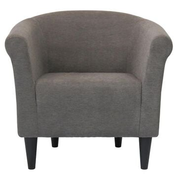Overman International Corp Accent Chair in Toulon Graphite, , large