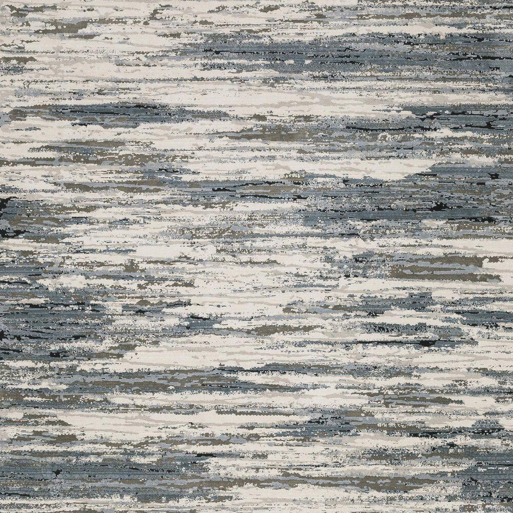 """Oriental Weavers Caravan Faded Brush 2'3"""" x 7'6"""" Beige and Blue Runner, , large"""