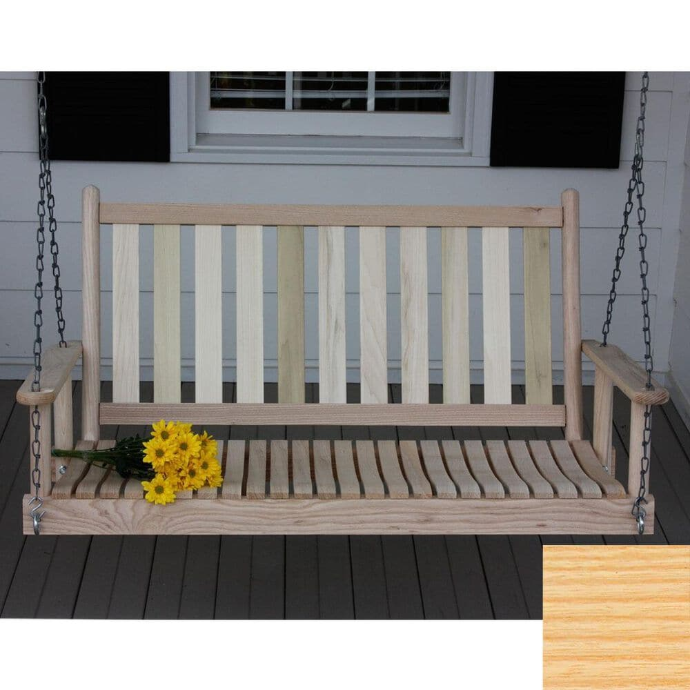 Lakeside Asheville 4' Porch Swing in Natural, , large
