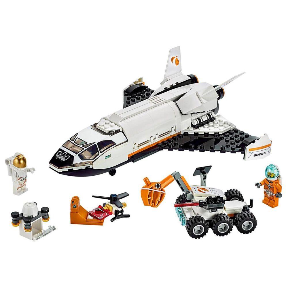 LEGO City Mars Research Shuttle Building Set, , large
