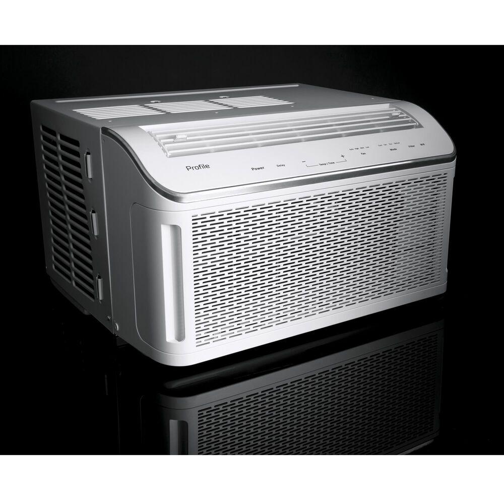 GE Appliances 8000 BTU Smart Air Conditioner in White, , large