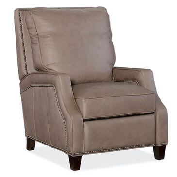 Hooker Furniture Leather Manual Recliner in Aspen Lenado, , large