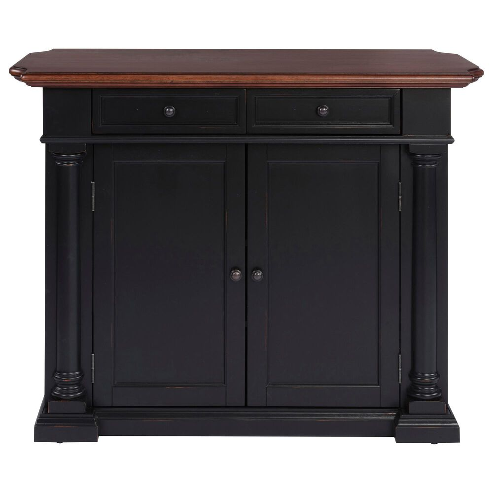Home Styles Beacon Hill Kitchen Island in Aged Cherry, , large