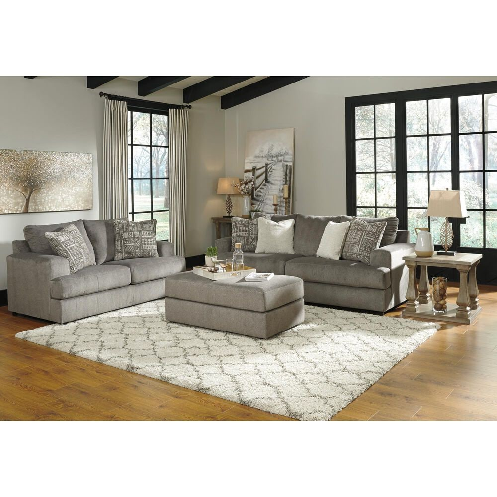 Signature Design by Ashley Soletren Loveseat in Ash, , large