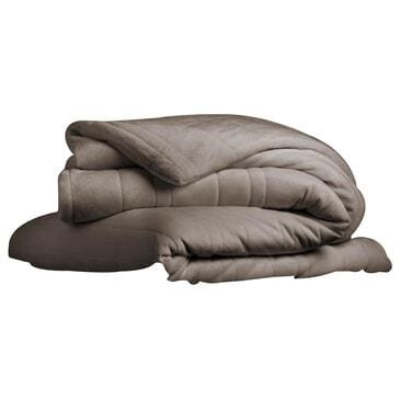Malouf 15lb Anchor Weighted Throw Blanket in Driftwood, , large
