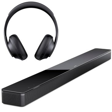 Bose Soundbar 700 with Noise Cancelling Headphones 700 in Black, , large