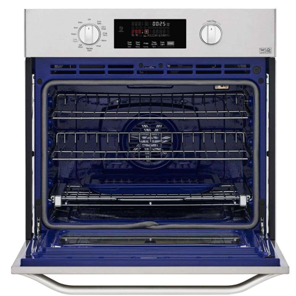 """LG STUDIO 30"""" 4.7 Cu. Ft. Smart Wi-Fi Enabled Single Built-In Wall Oven - Stainless Steel, , large"""