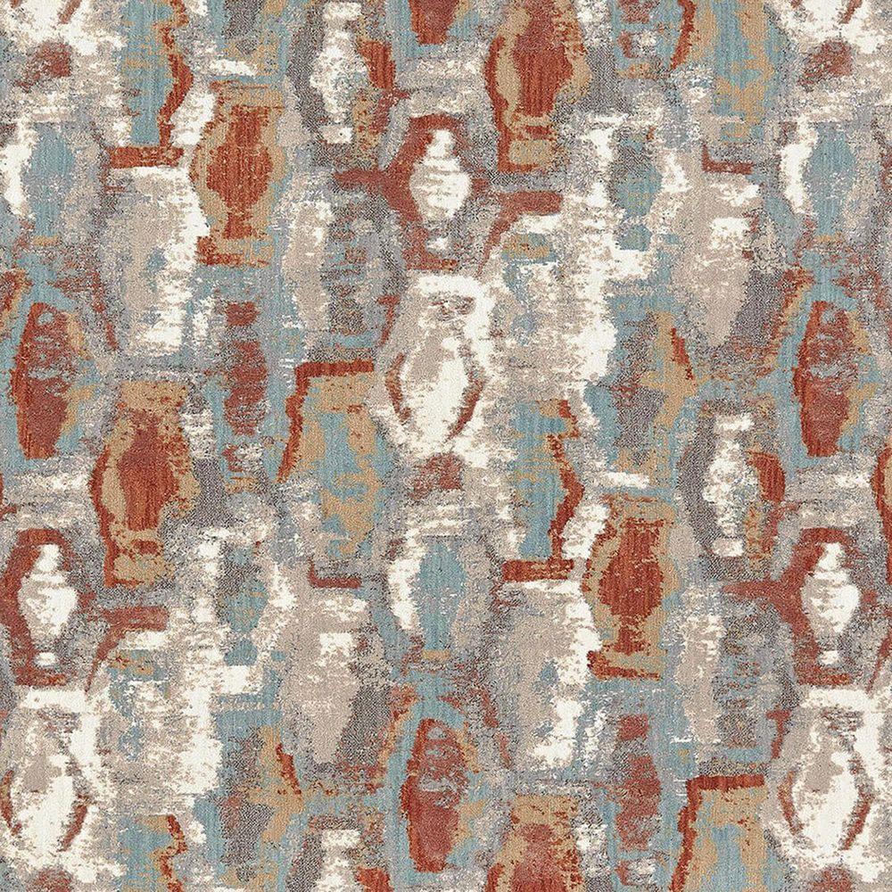 Karastan Soiree Gimlet 91969-60129 2' x 3' Robins Egg Area Rug, , large