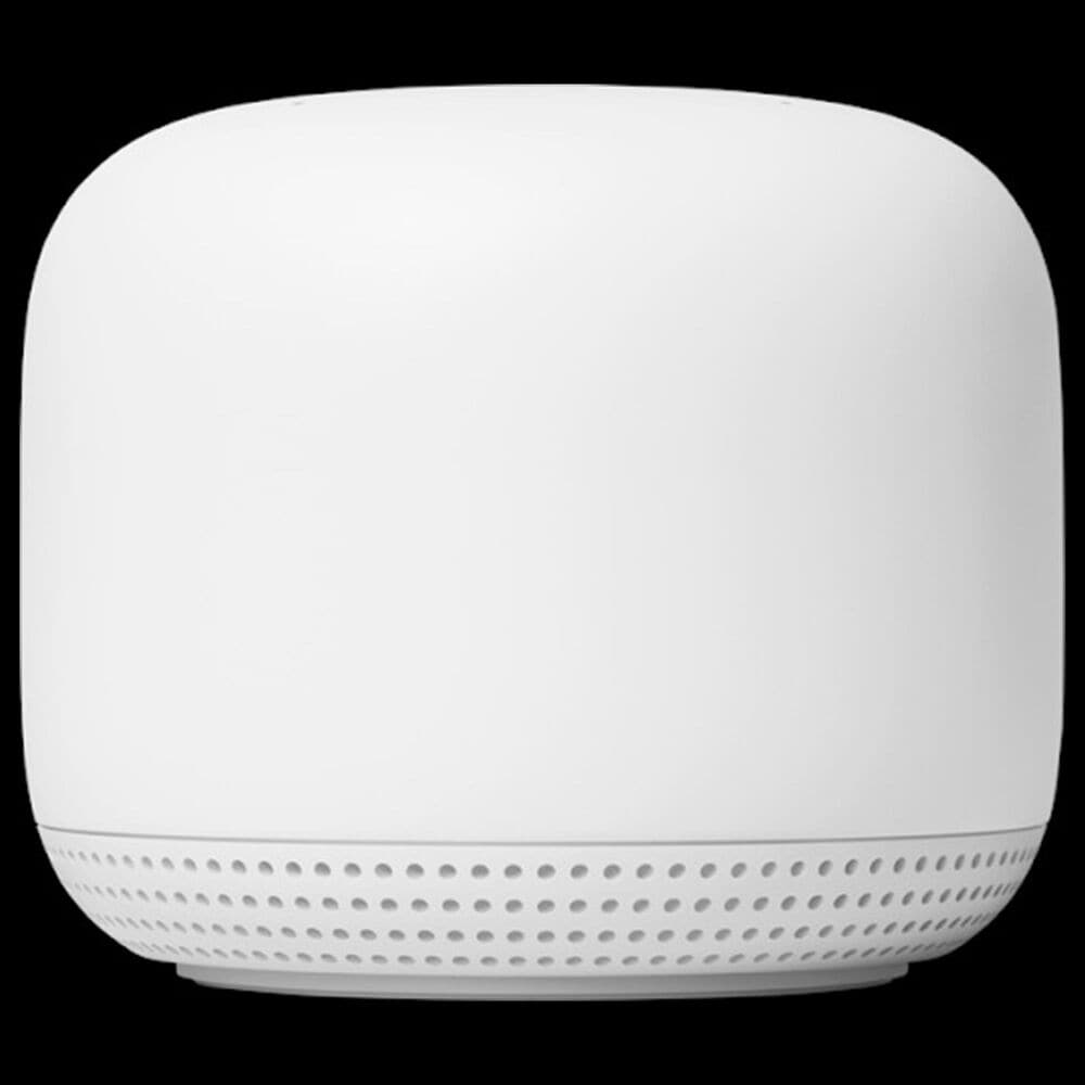 Google Nest Wifi AC2200 Mesh System Router and Point in Snow, , large