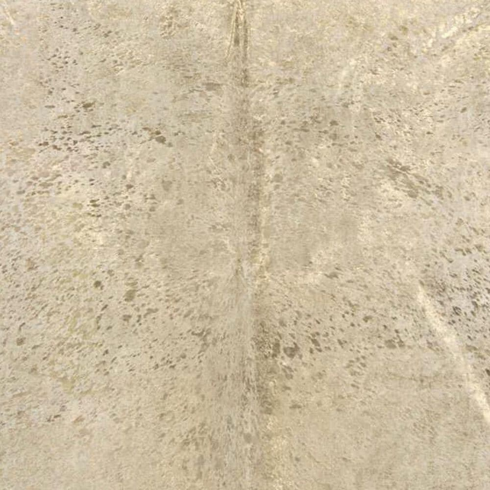 Nourison Couture Hide BR100 5' x 8' Beige and Gold Area Rug, , large