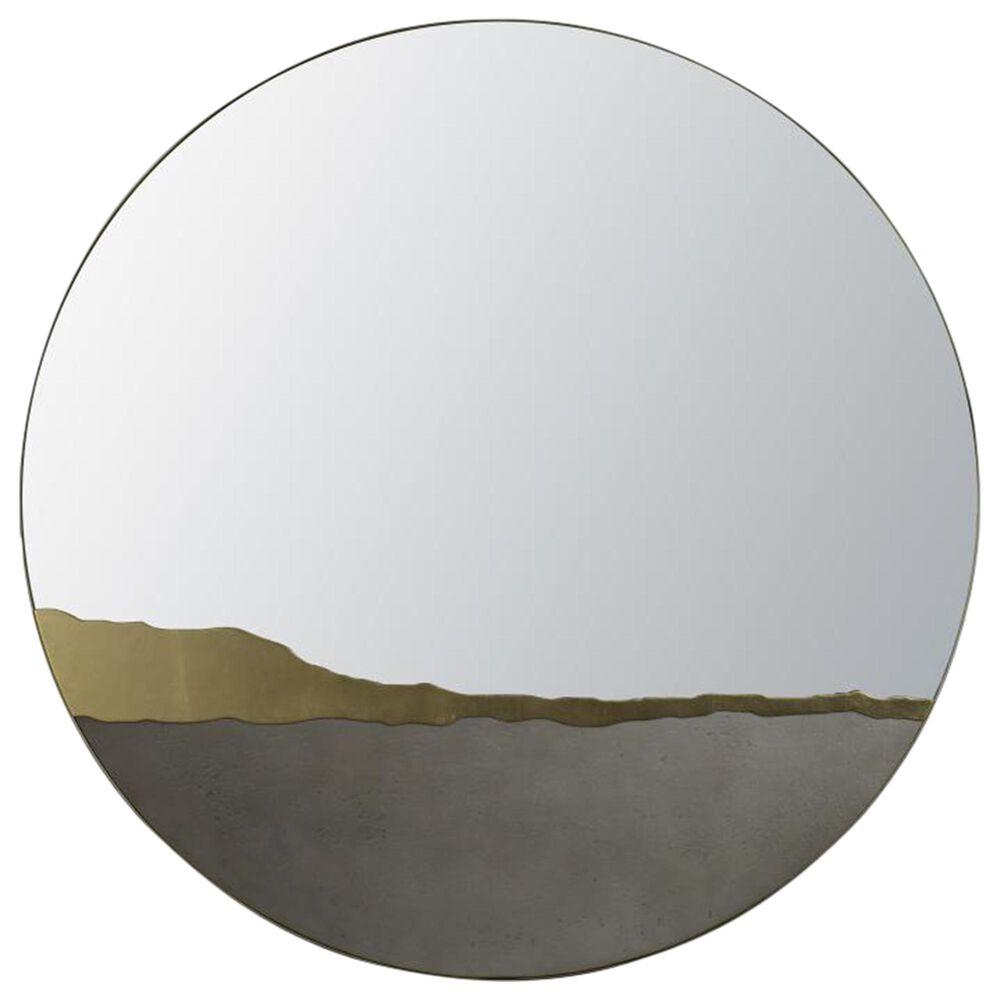 Century Grand Tour Kintsugi Mirror in Gold, , large