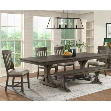Hawthorne Furniture Sullivan 6-Piece Dining Set in Burnished Clay, , large