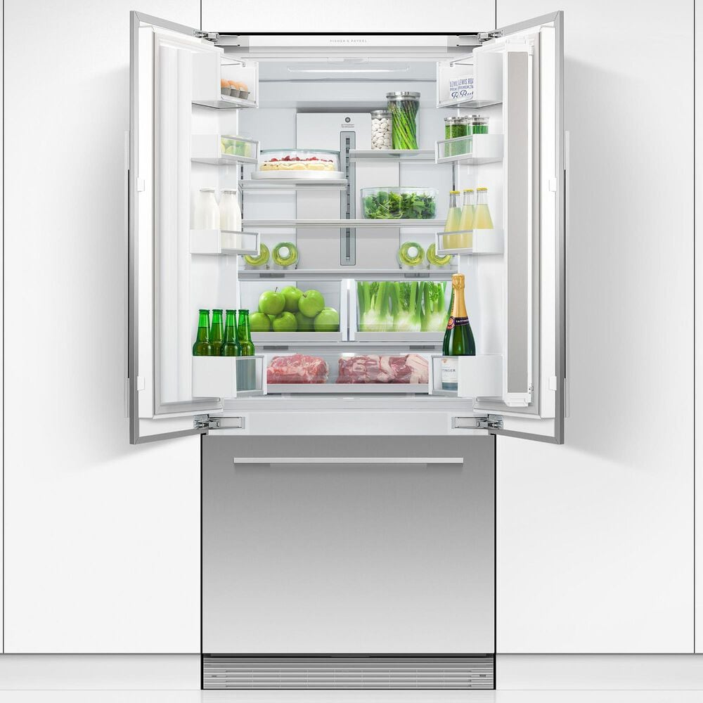 """Fisher and Paykel 32"""" Integrated French Door Refrigerator in Stainless Steel, , large"""