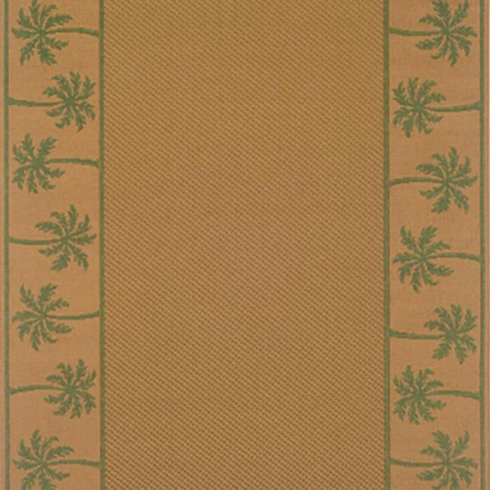 """Oriental Weavers Lanai 606G 5'3"""" x 7'6"""" Green Area Rug, , large"""
