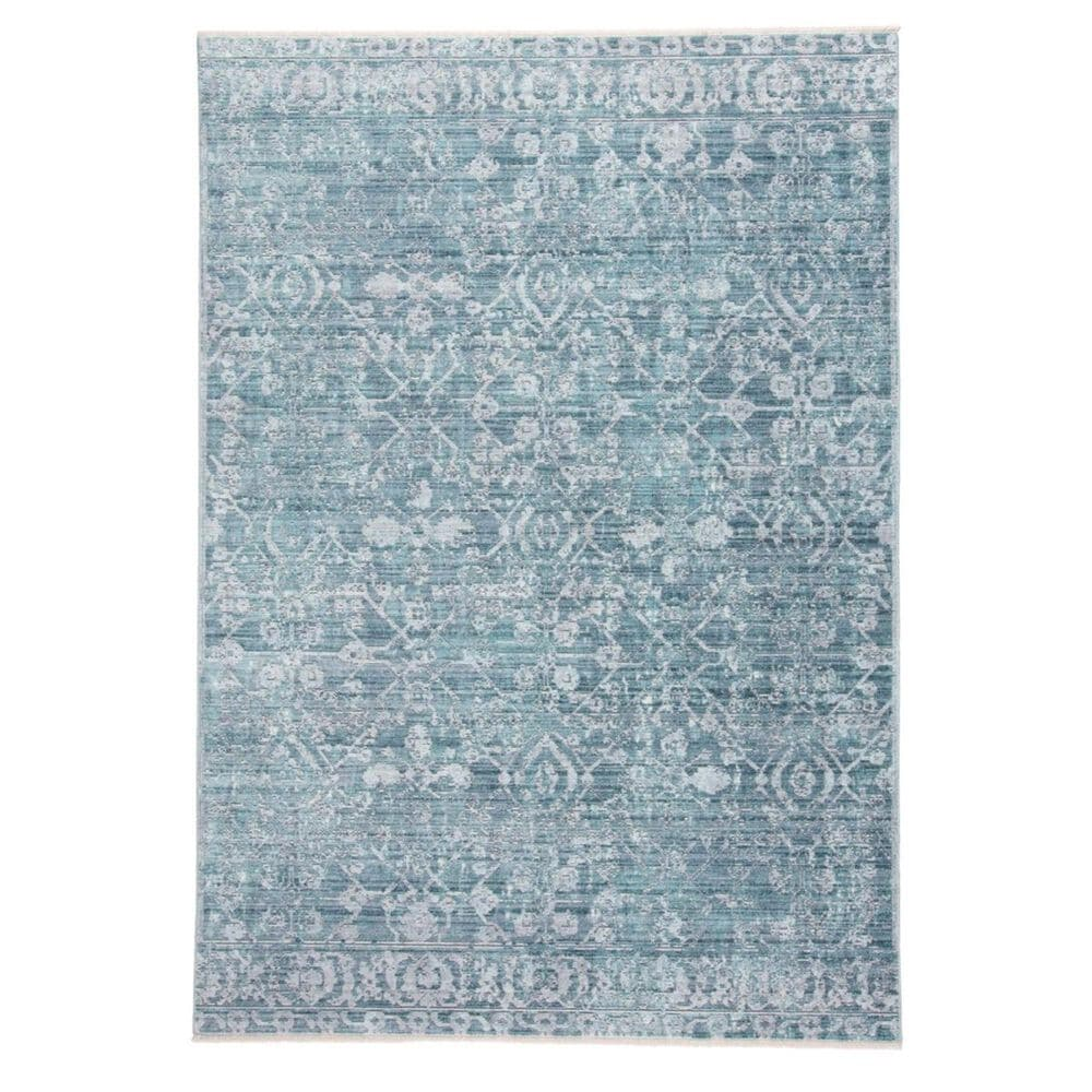 """Feizy Rugs Cecily 3595F 4"""" x 6"""" Blue and Turquoise Area Rug, , large"""