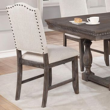 Claremont Regent Side Chair in Warm Brown, , large