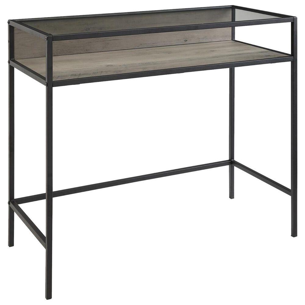"""Walker Edison 35"""" Computer Desk in Grey Wash, , large"""