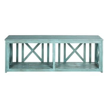 Safavieh Branco Bench in Beach House Blue, , large