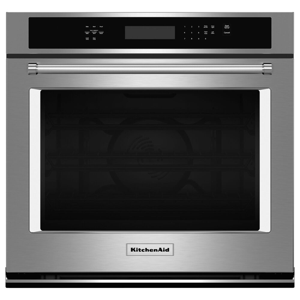 """KitchenAid 2-Piece Kitchen Package with Single Wall Oven and 36"""" Gas Cooktop in Stainless Steel, , large"""