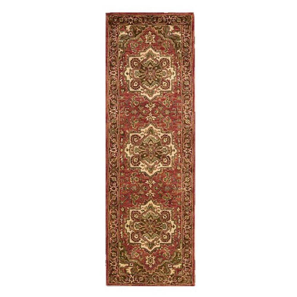 """Nourison Jaipur JA36 2'4"""" x 8' Red Runner, , large"""