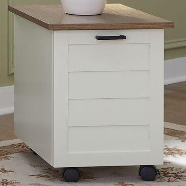 Home Styles Portsmouth Mobile File Cabinet in White, , large