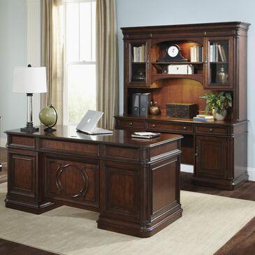 Belle Furnishings Brayton Manor 5-Piece Jr Executive Set in Cognac, , large