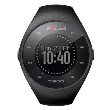 Polar Fitness M200 Running Watch with Wrist-Based Heart Rate - Black, , large