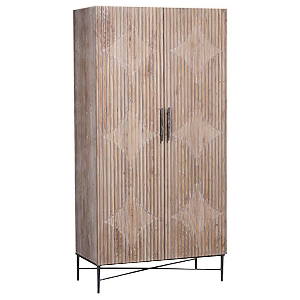 Blue Sun Designs Zell Cabinet in Grey, , large