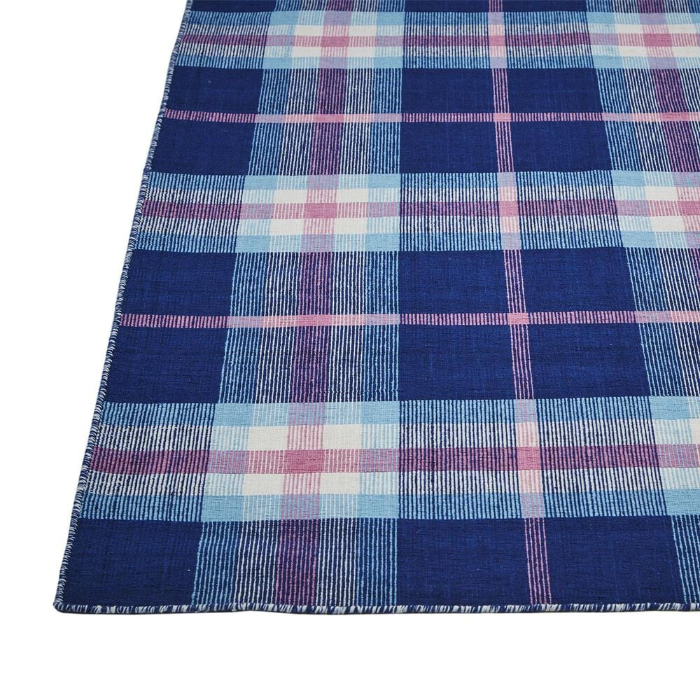 Feizy Rugs Crosby 0565F 3'6'' x 5'6'' Navy Area Rug, , large
