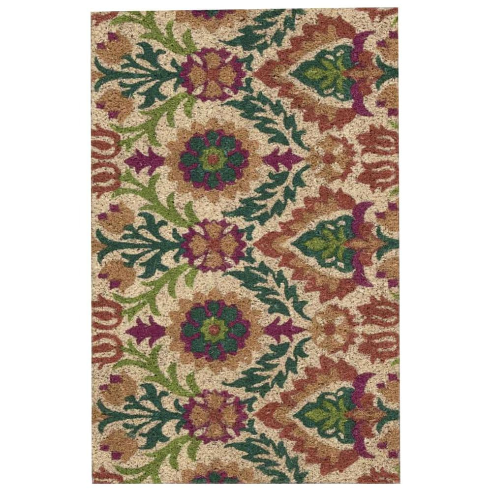 Nourison Greetings WAV17-WGT01 2' x 3' Clay Scatter Rug, , large