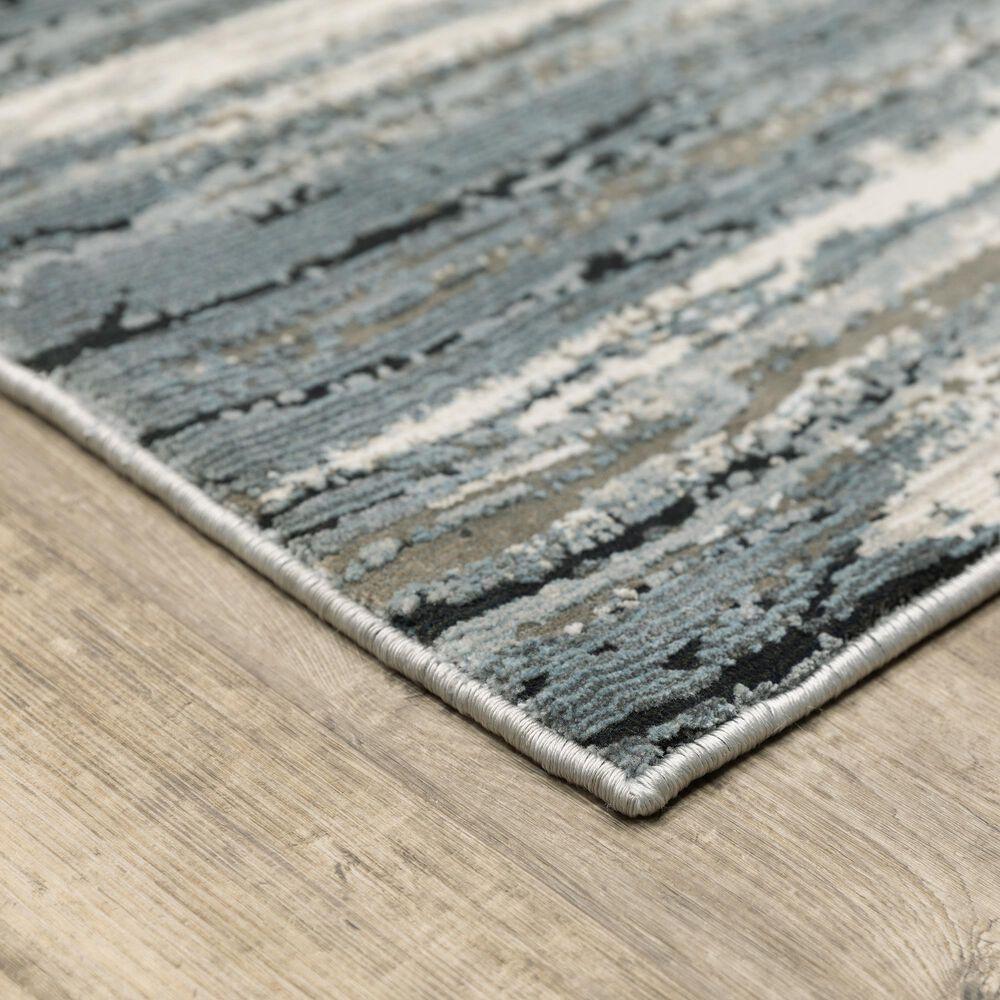 """Oriental Weavers Caravan Faded Brush 7'10"""" x 10'10"""" Beige and Blue Area Rug, , large"""