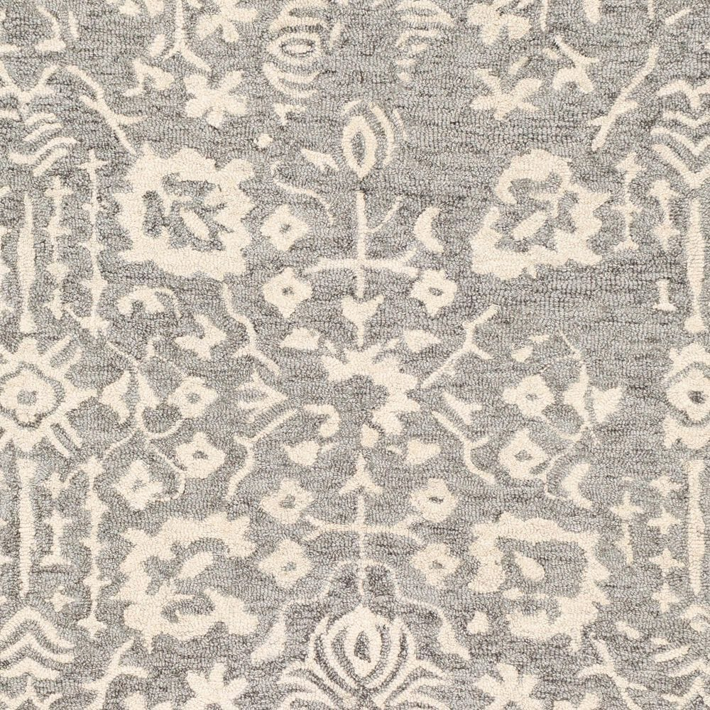 Surya Granada GND-2312 2' x 3' Medium Gray, Beige and Charcoal Scatter Rug, , large
