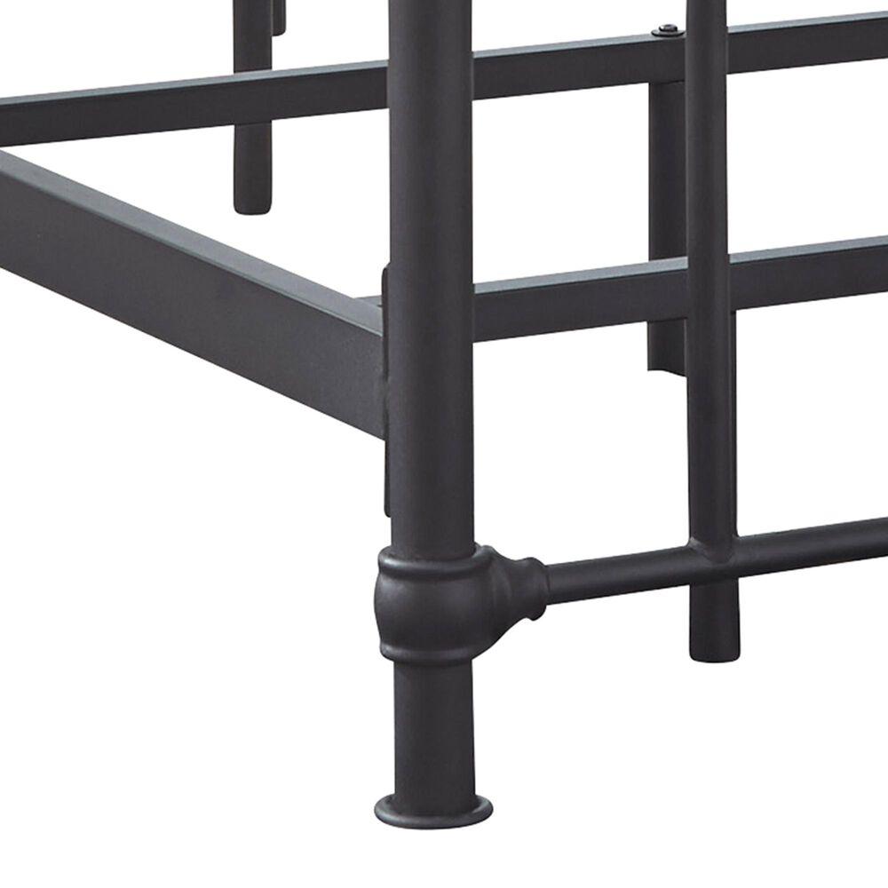 Signature Design by Ashley Nashburg Twin Metal Headboard/Footboard/Rails in Black, , large
