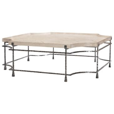 Century Mesa Cortez Cocktail Table in Blackened and Tan, , large