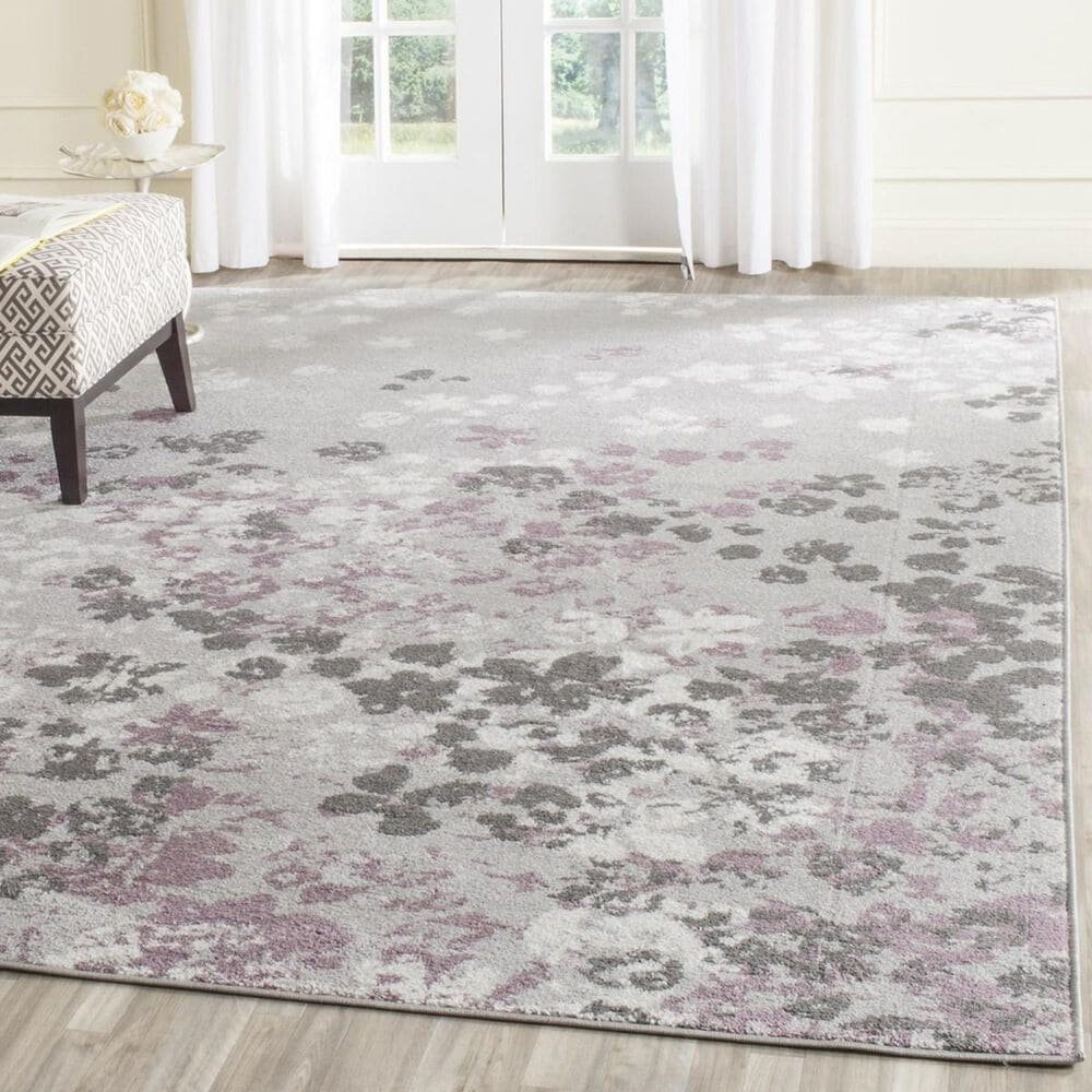 Safavieh Adirondack ADR115M 10' x 14' Light Grey and Purple Area Rug, , large