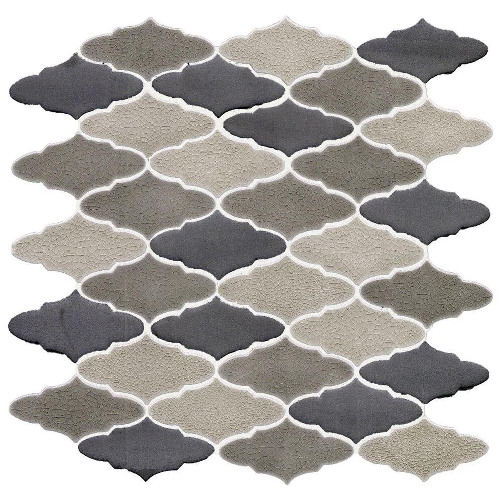 "Soci Cityscape Ashford Blend Monaco 11.22"" x 12.60"" Ceramic Mosaic Sheet, , large"