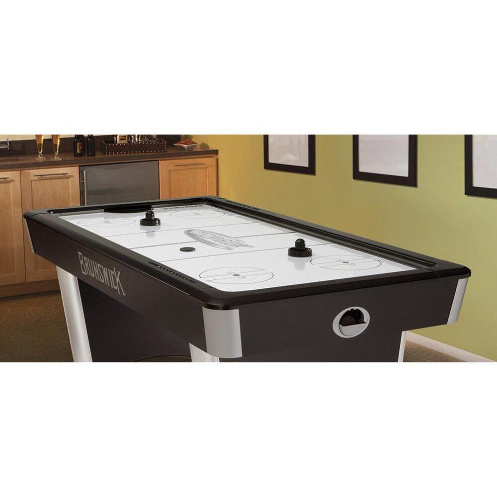 Brunswick Billiards Wind Chill Air Hockey Table in Black, , large
